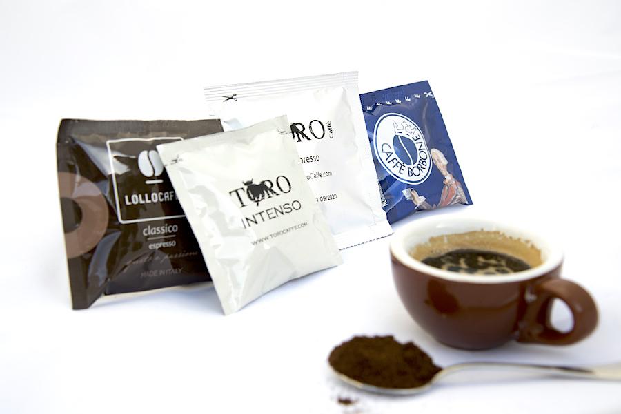 Macchina da caffe compatibile con cialde borbone